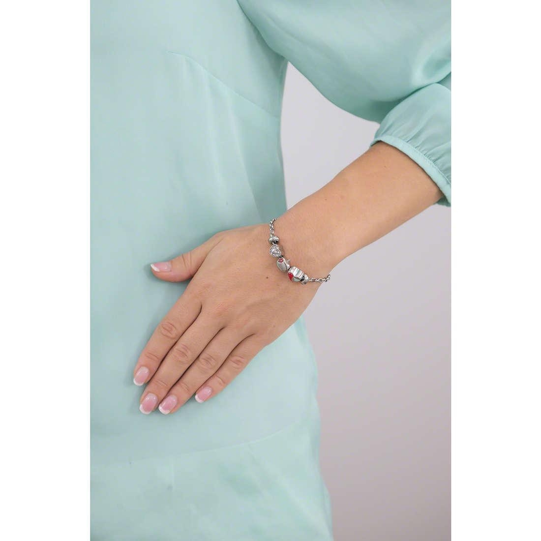 Morellato bracelets Drops woman SCZ458 indosso