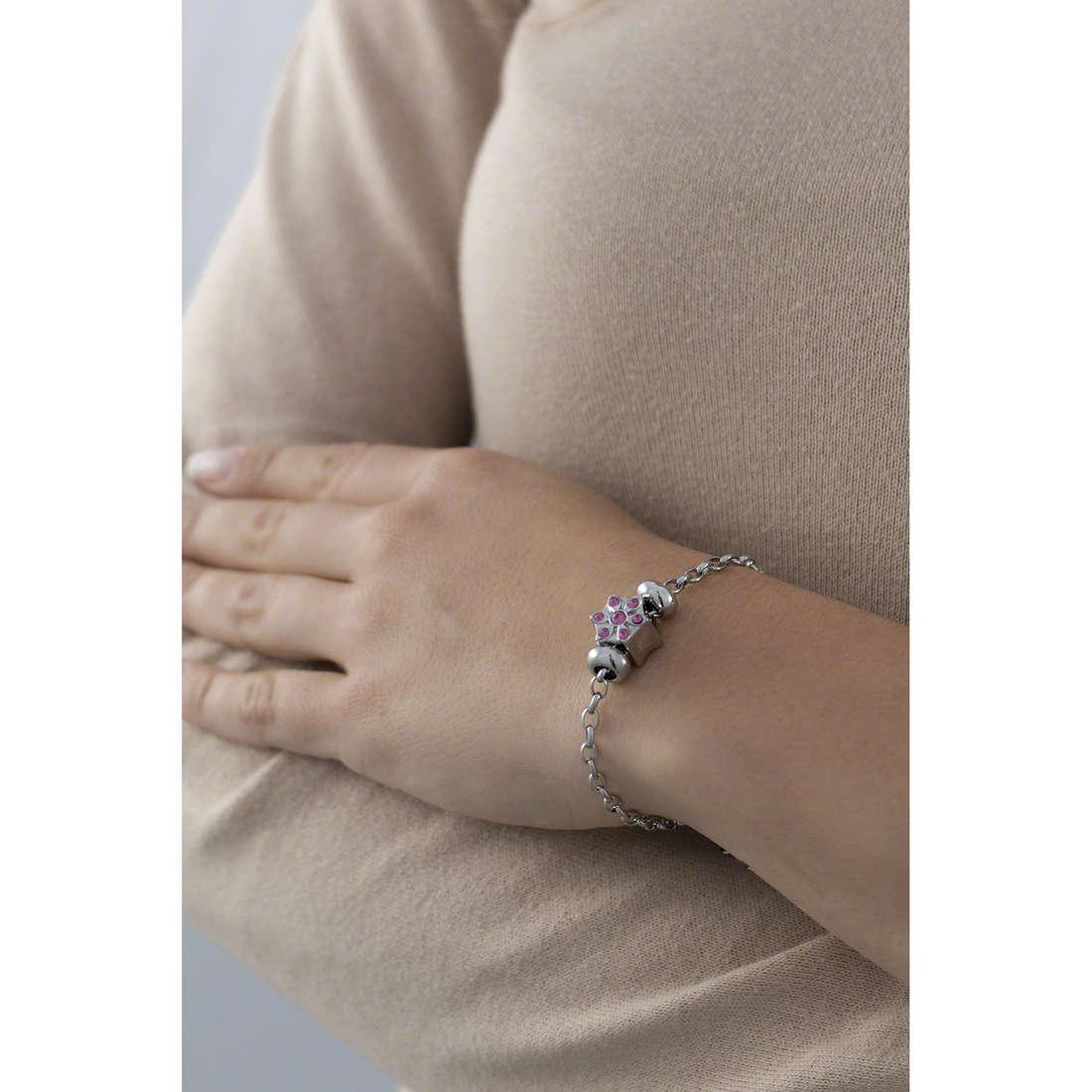 Morellato bracelets Drops woman SCZ525 indosso