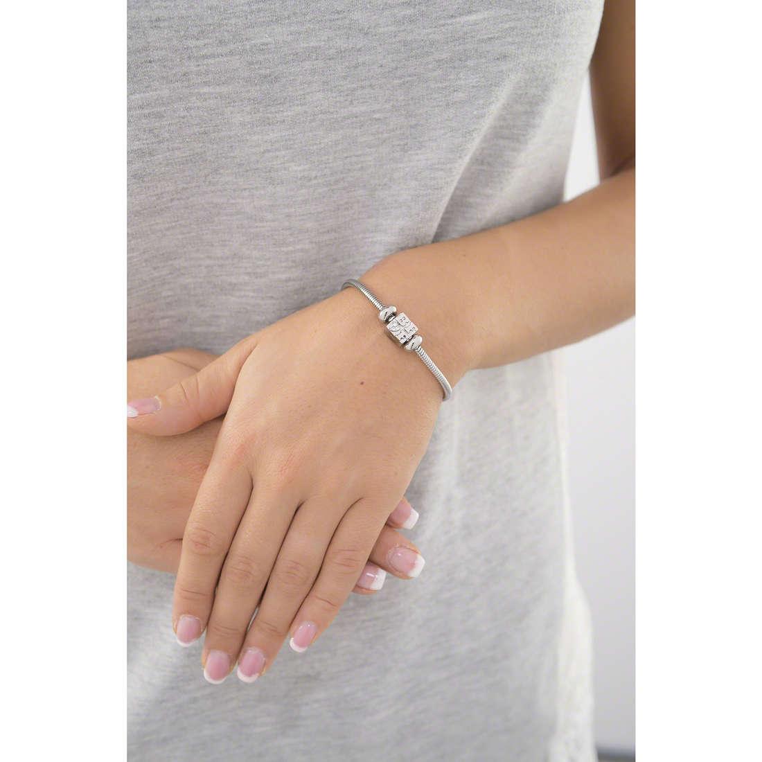 Morellato bracelets Drops woman SCZ527 indosso