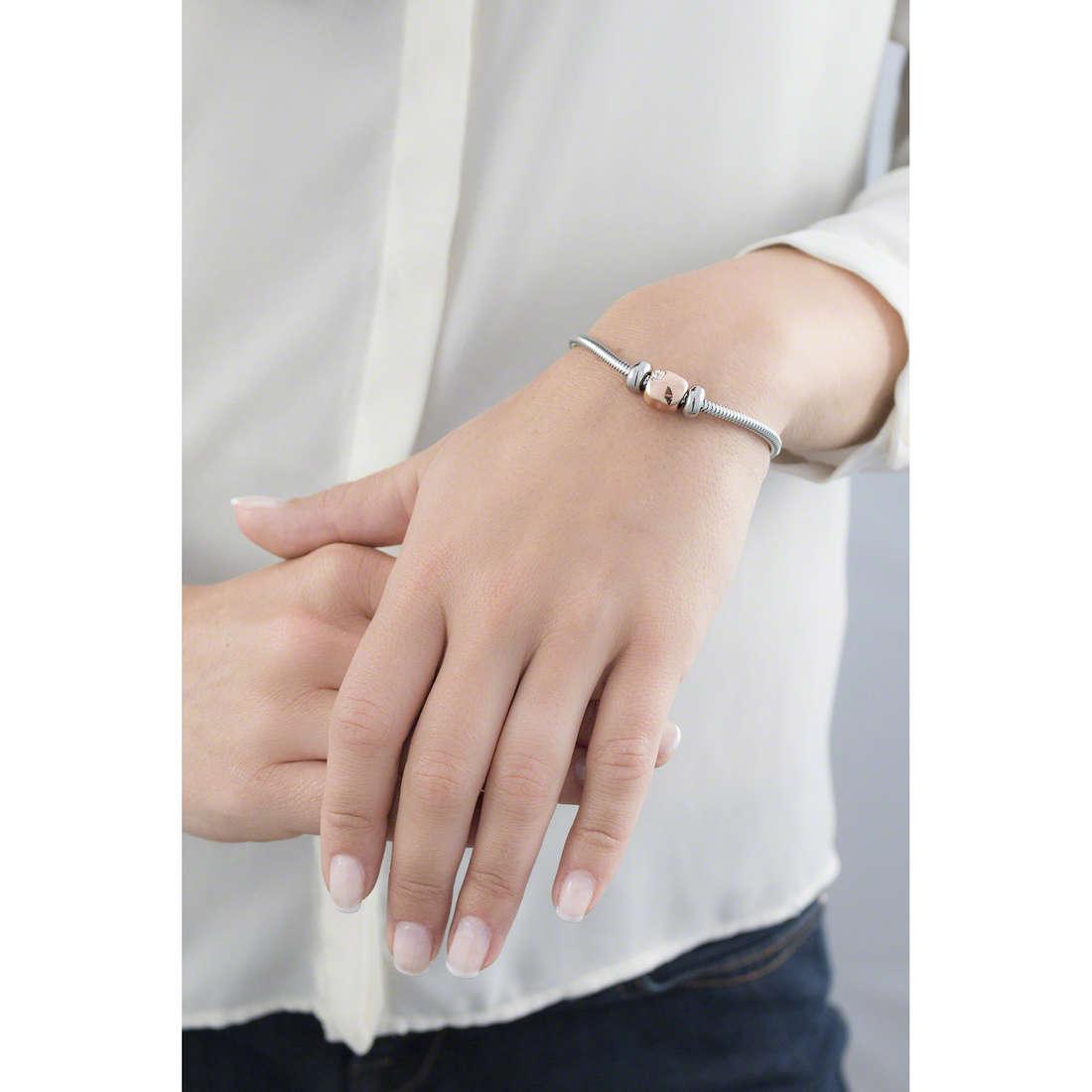 Morellato bracelets Drops woman SCZ529 indosso