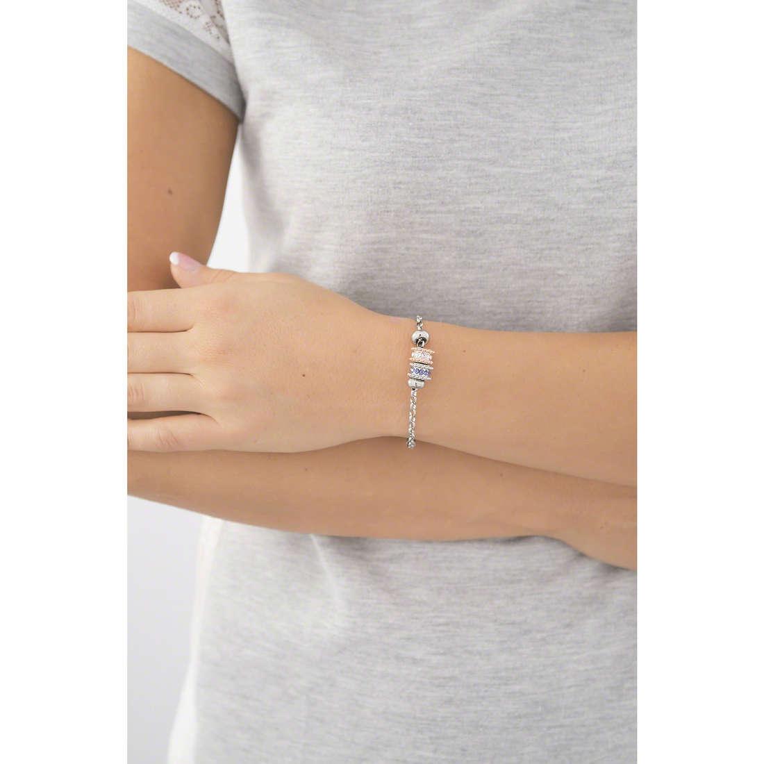Morellato bracelets Drops woman SCZ530 indosso
