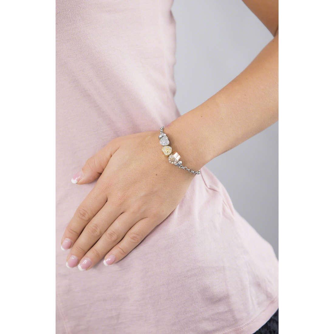 Morellato bracelets Drops woman SCZ622 indosso