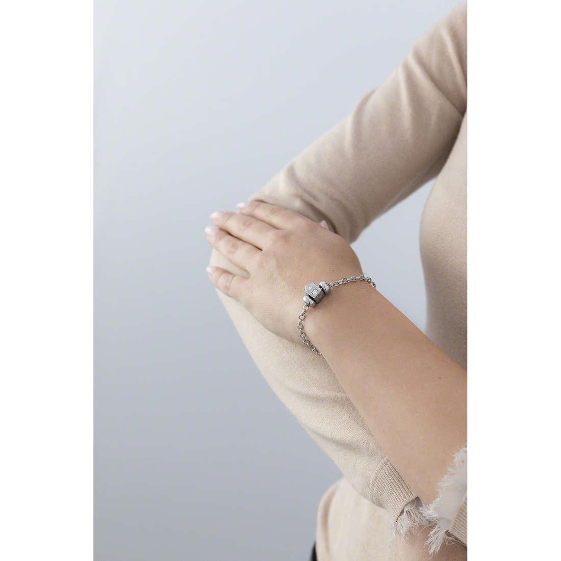 Morellato bracelets Drops woman SCZ671 indosso