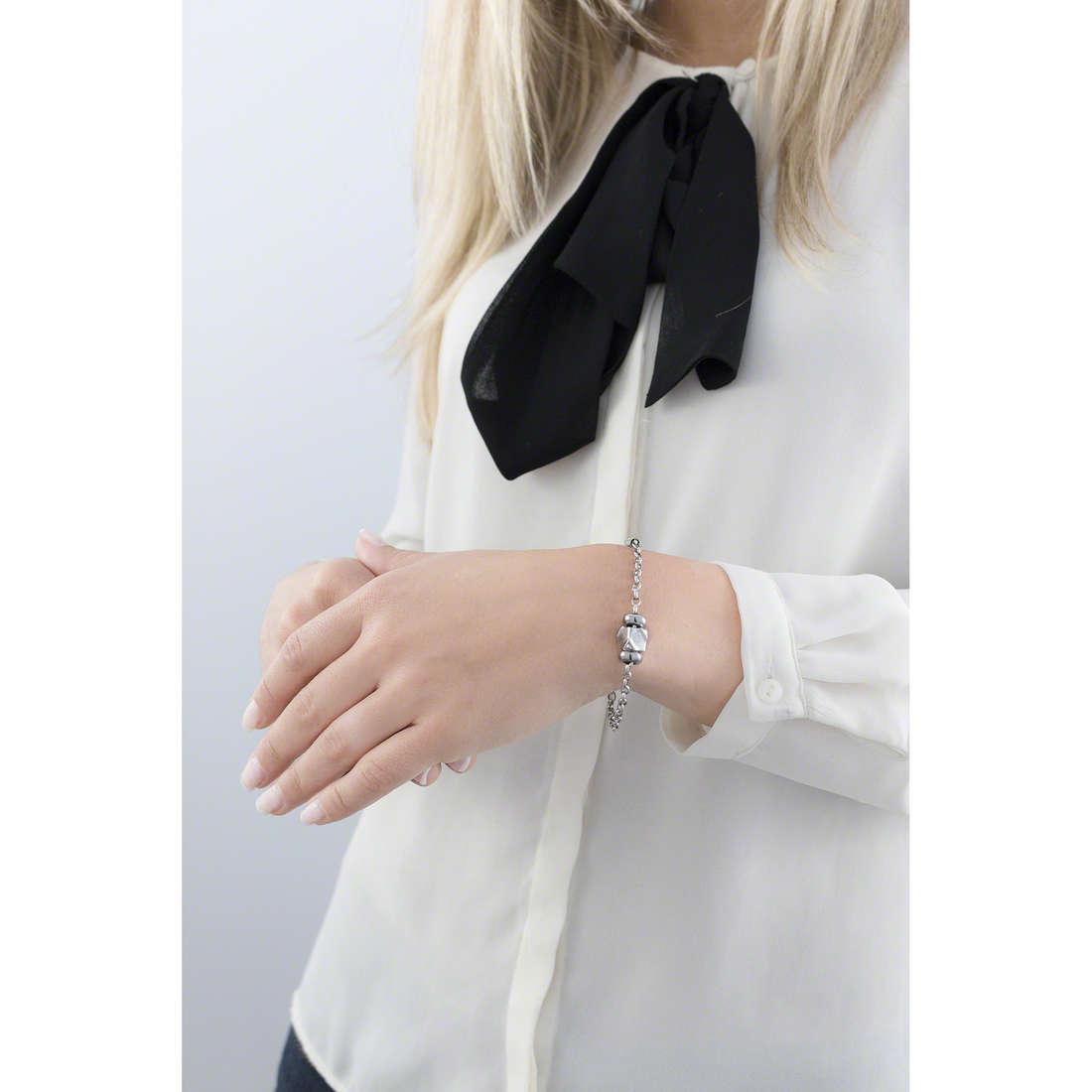 Morellato bracelets Drops woman SCZ672 indosso