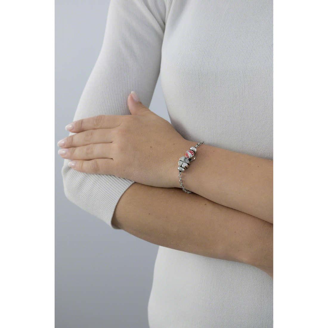 Morellato bracelets Drops woman SCZ676 indosso