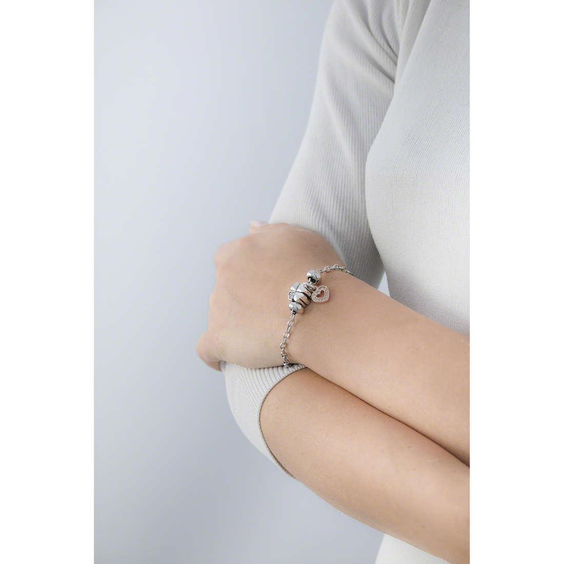 Morellato bracelets Drops woman SCZ678 indosso