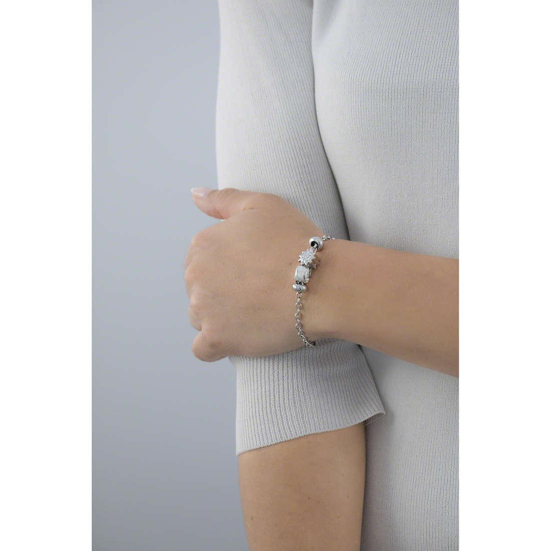 Morellato bracelets Drops woman SCZ679 indosso