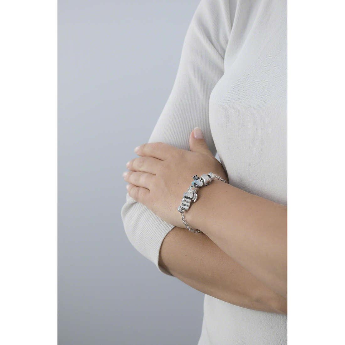 Morellato bracelets Drops woman SCZ688 indosso