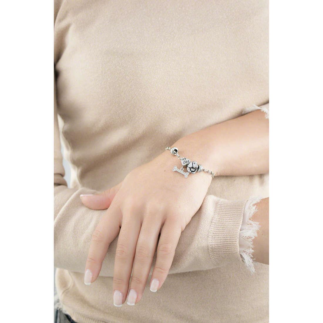 Morellato bracelets Drops woman SCZ716 indosso