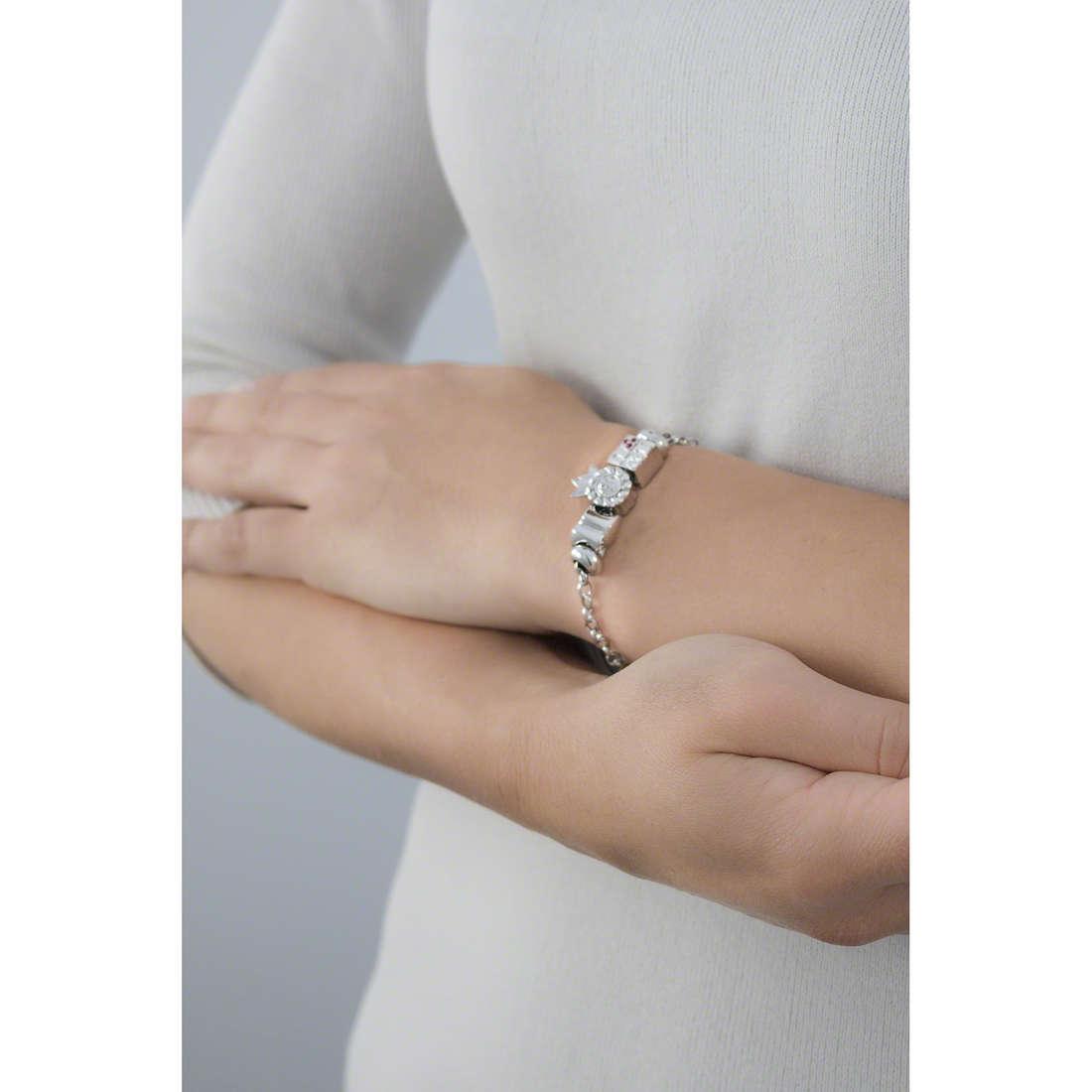 Morellato bracelets Drops woman SCZ718 indosso