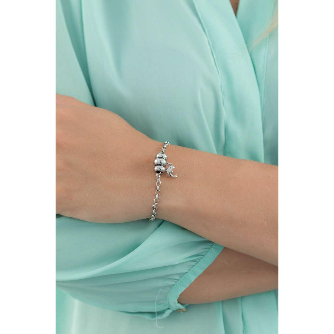 Morellato bracelets Drops woman SCZ721 indosso