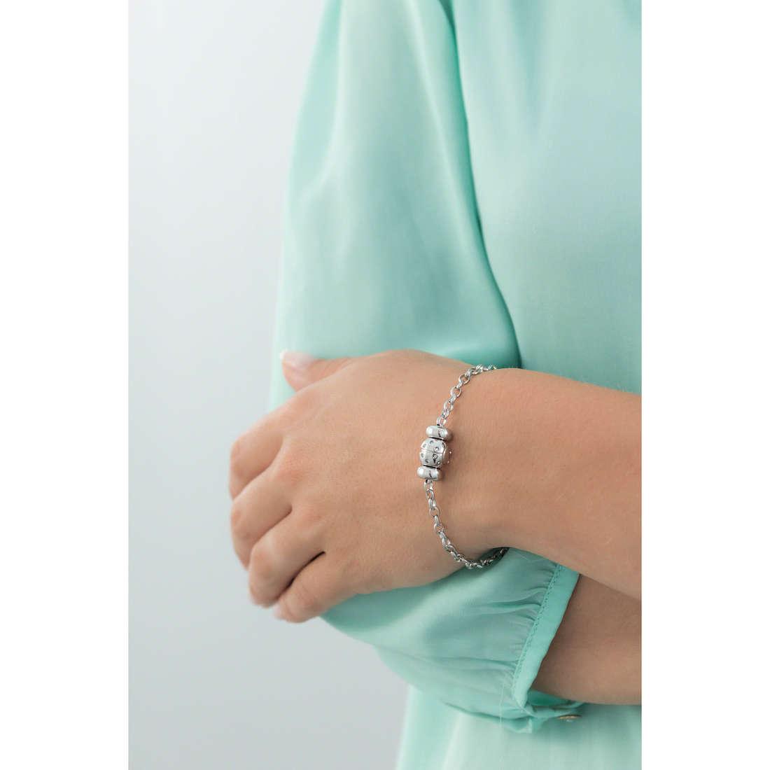 Morellato bracelets Drops woman SCZ723 indosso