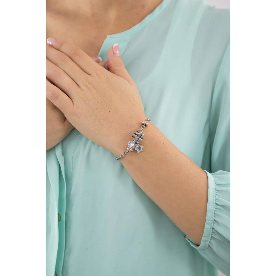 Morellato bracelets Drops woman SCZ786 indosso