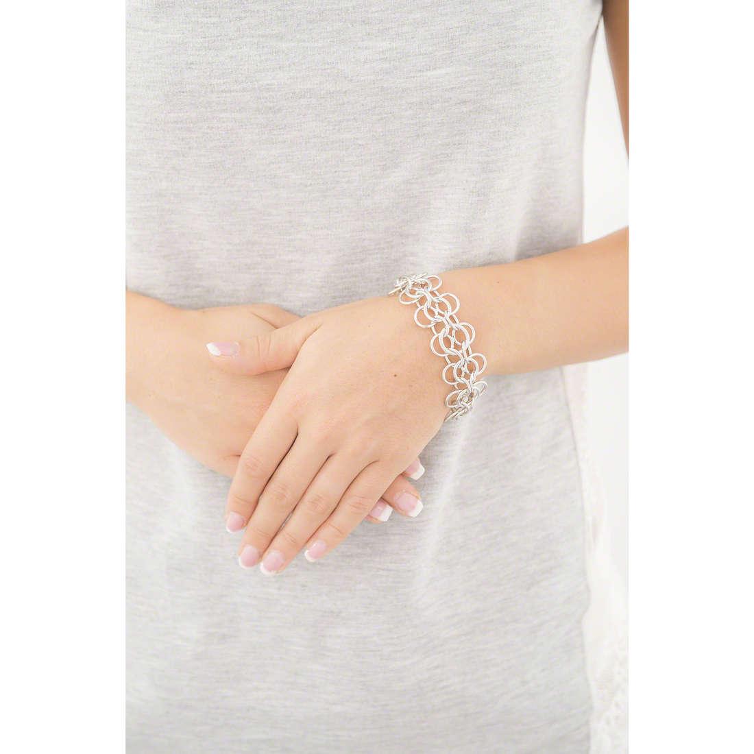 Morellato bracelets Essenza woman SAGX14 indosso