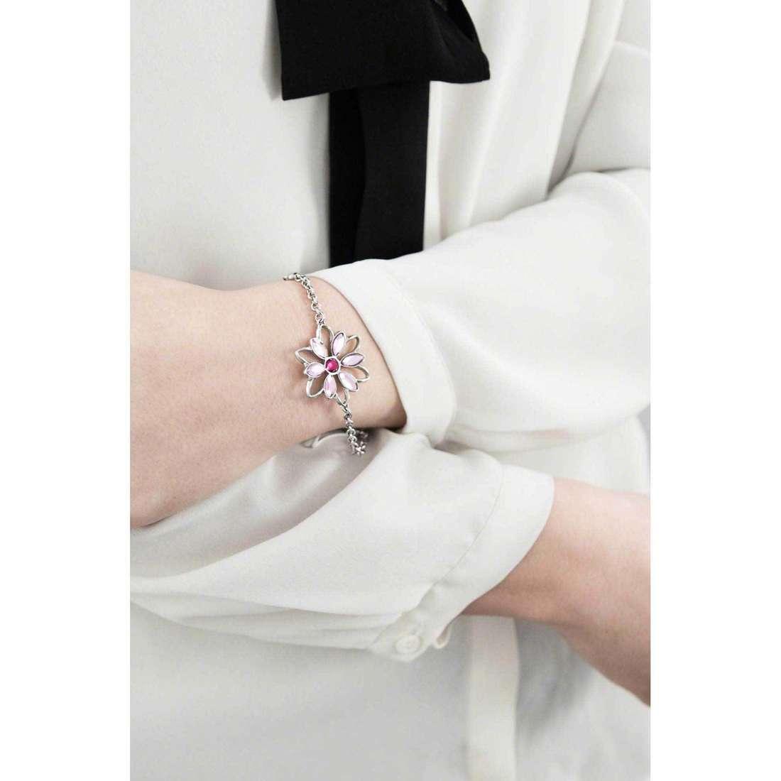 Morellato bracelets Fioremio woman SABK14 indosso