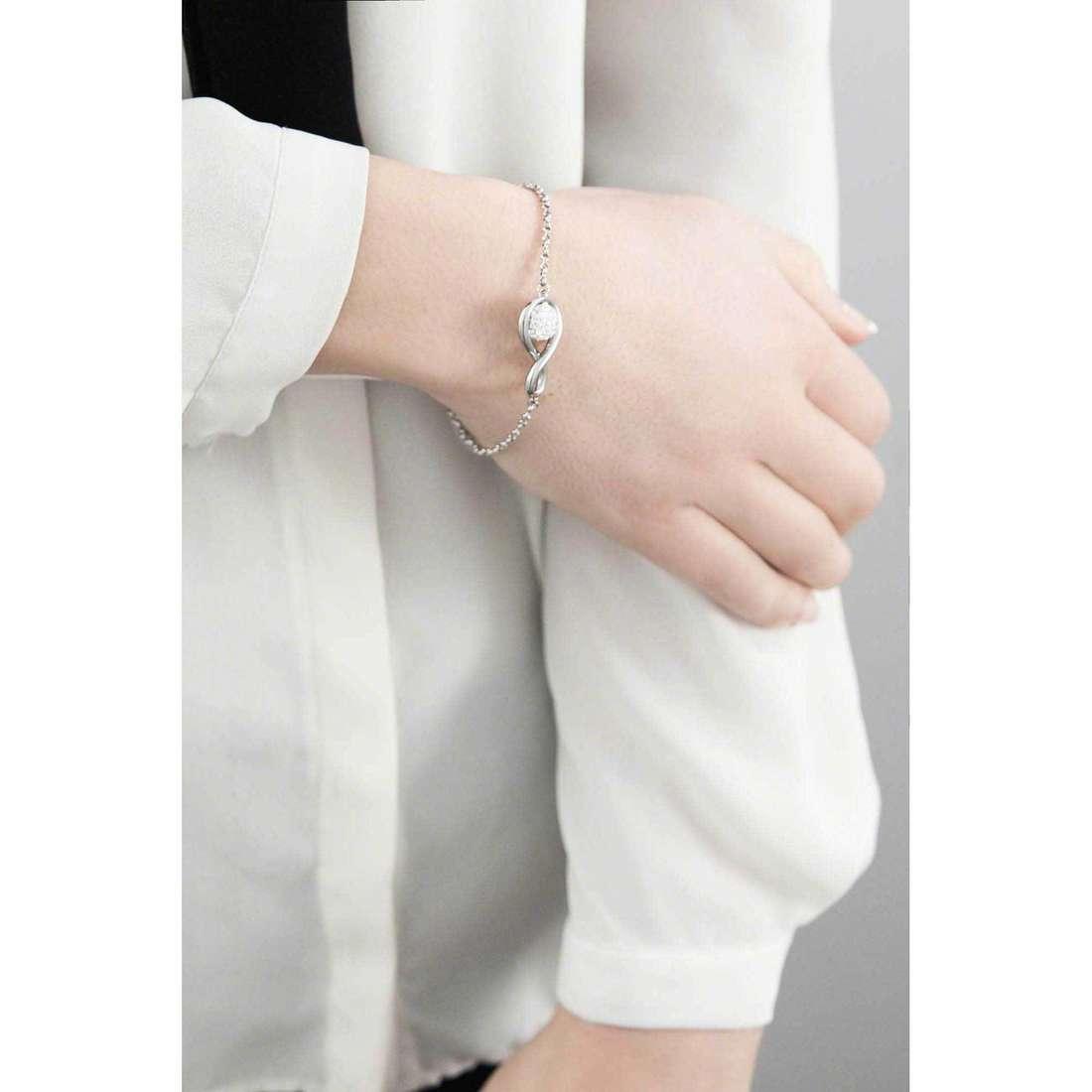 Morellato bracelets Luminosa woman SAET07 indosso