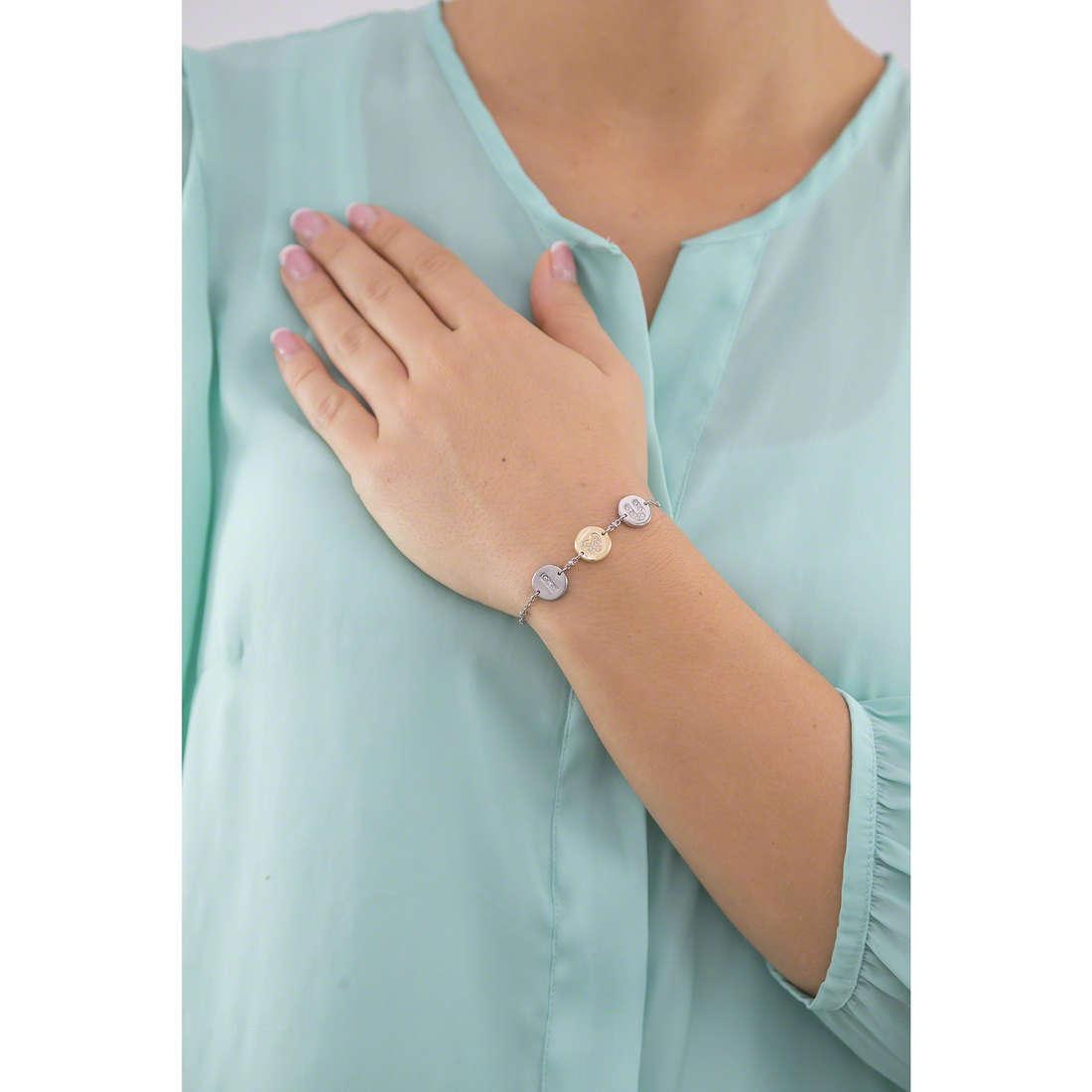 Morellato bracelets Monetine woman SAHQ06 indosso