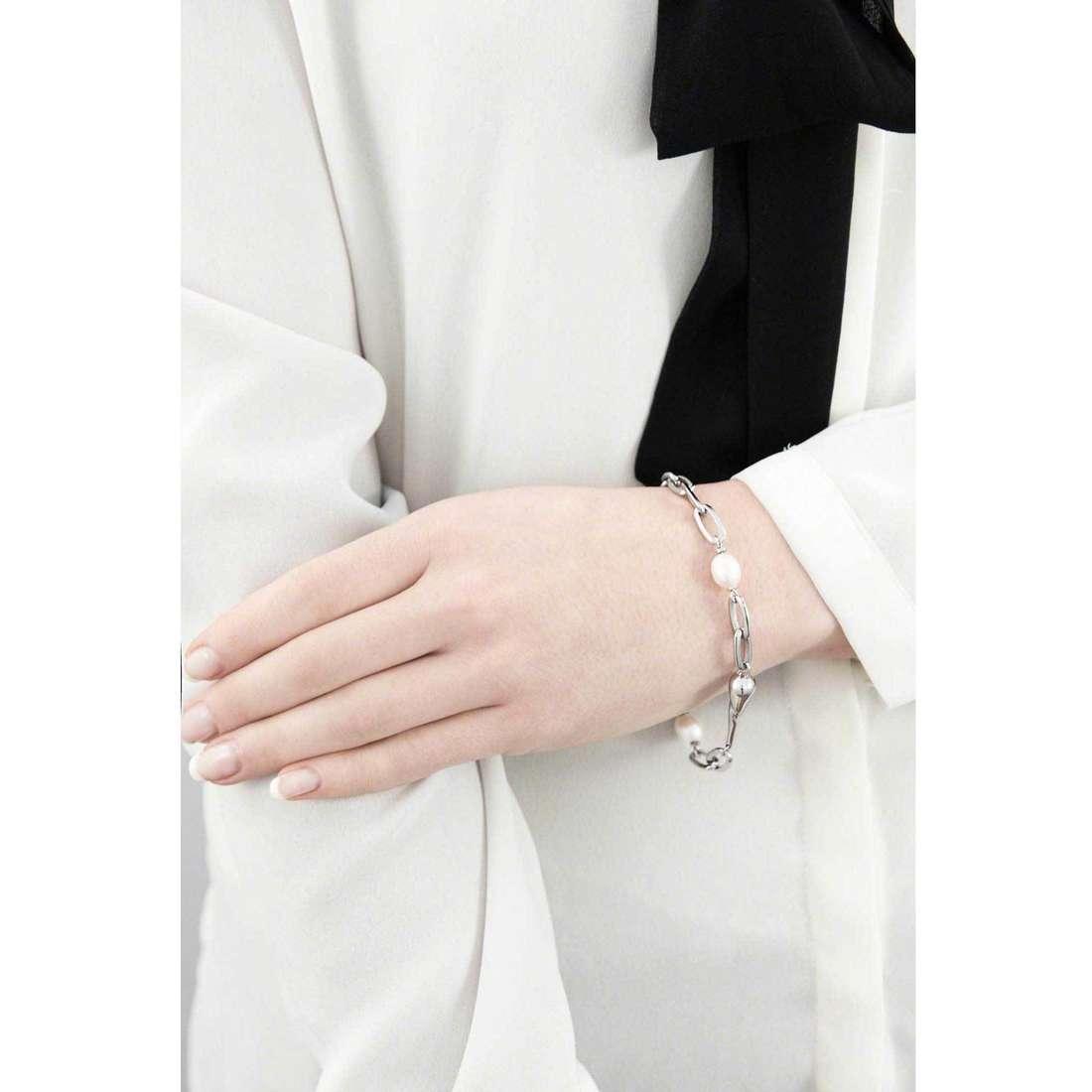 Morellato bracelets Perla woman SXU14 indosso