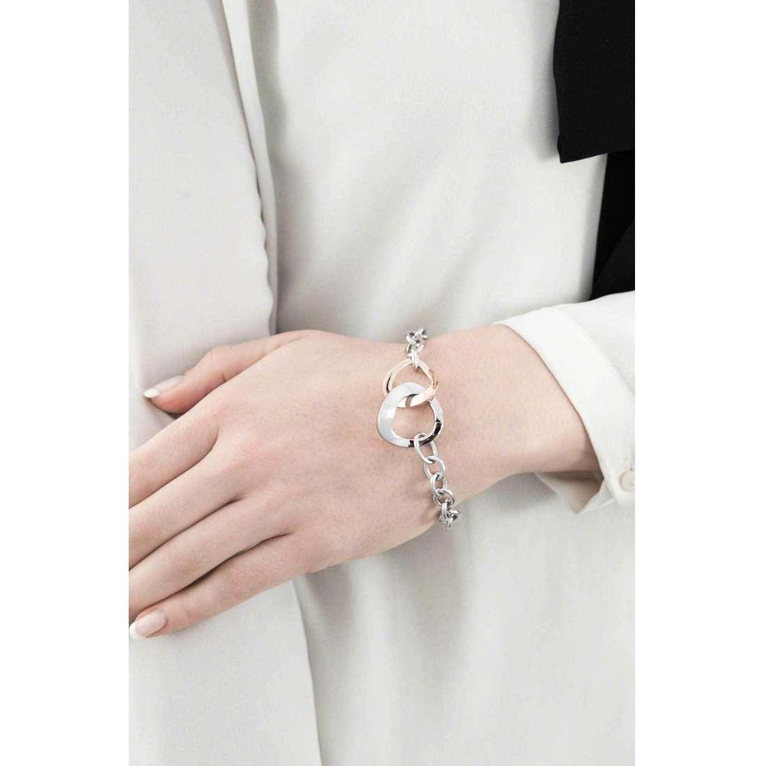 Morellato bracelets Senza fine woman SKT04 indosso