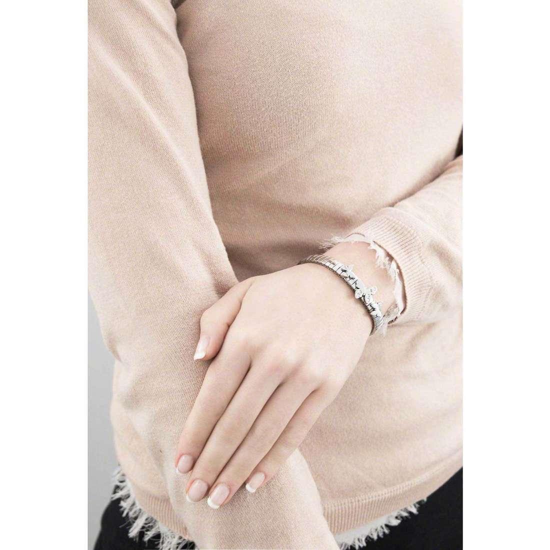 Nomination bracelets Butterfly woman 021300/001 indosso