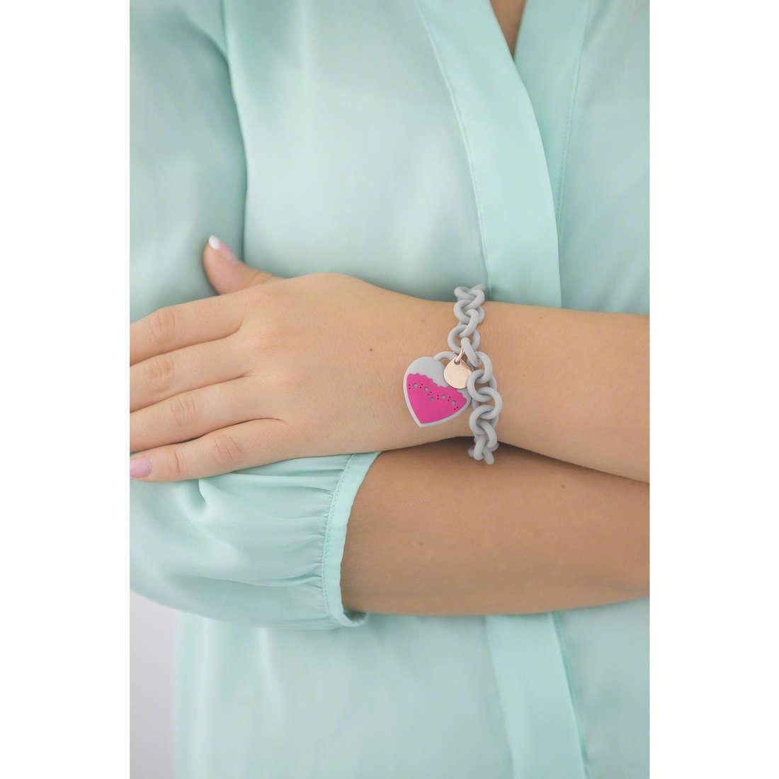 Ops Objects bracelets Derby woman OPSBR-321 indosso