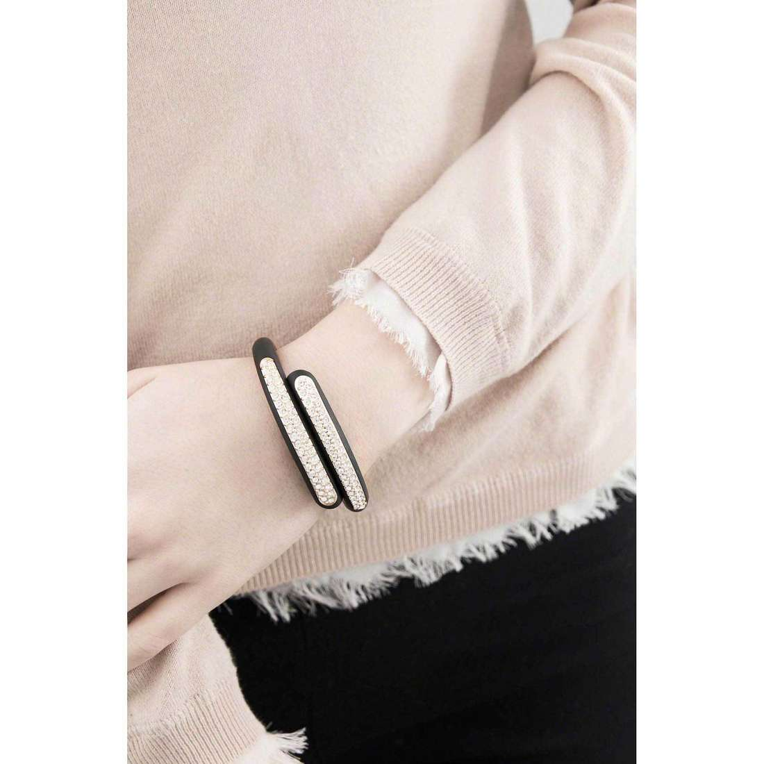Ops Objects bracelets Diamond woman OPSBR-330 indosso