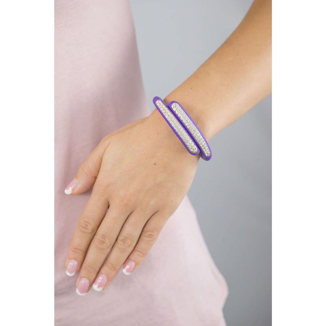 Ops Objects bracelets Diamond woman OPSBR-333 indosso