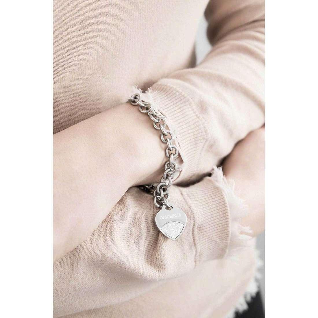 Ops Objects bracelets Glitter woman OPSBR-350 indosso