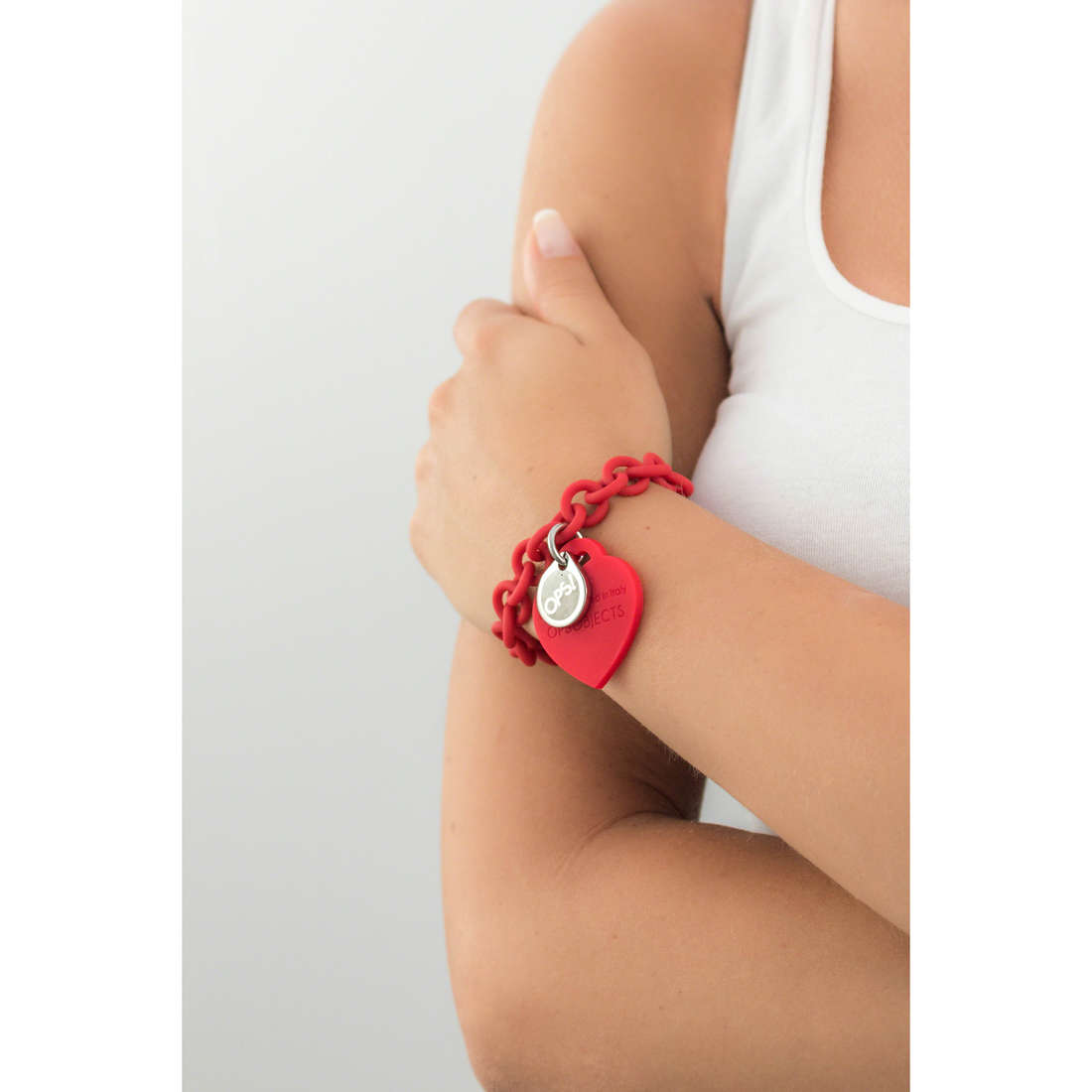 Ops Objects bracelets Ops Love woman OPSBR-06 indosso