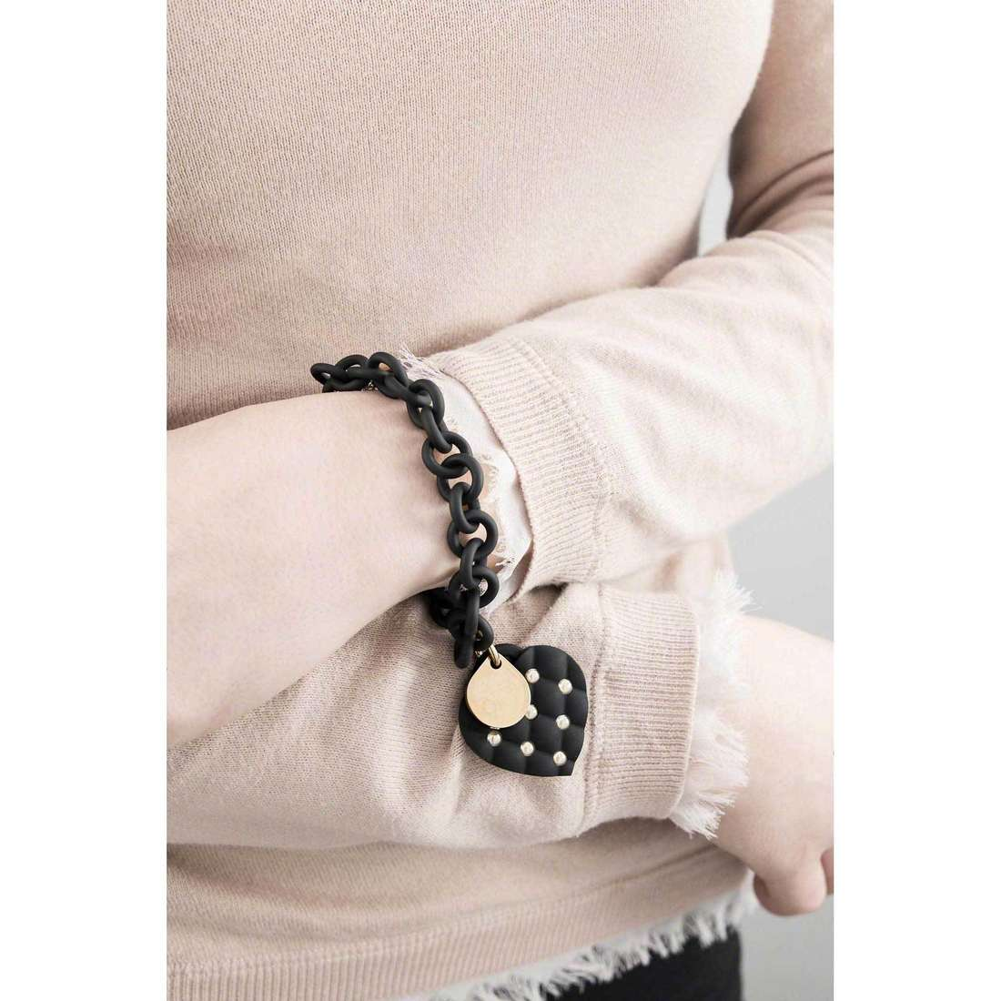 Ops Objects bracelets Ops Love woman OPSBR-181 indosso