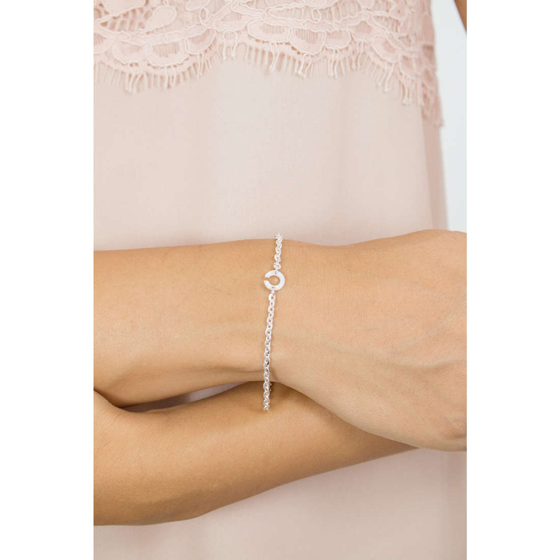 Rebecca bracelets Myworldsilver woman SWWBAA05 photo wearing