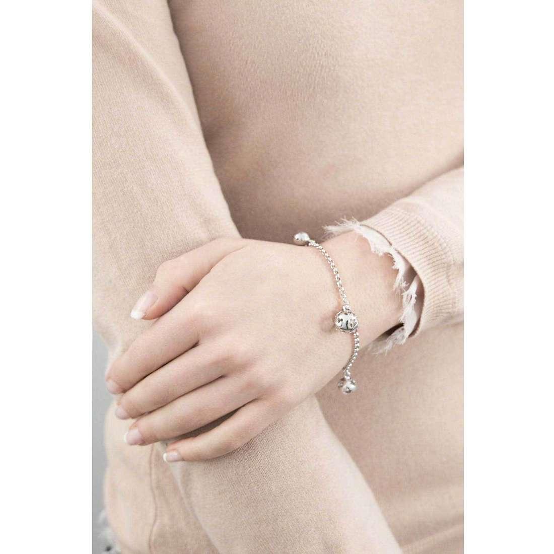 Giannotti bracelets Chiama Angeli woman SFA67 indosso