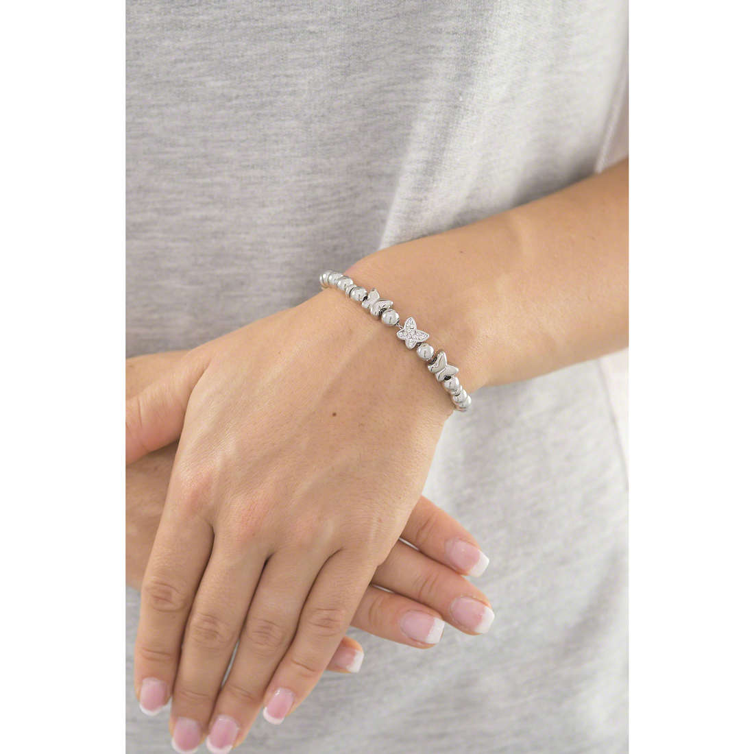 Sagapò bracelets Bonjour woman SAGAPOSBJ14 indosso