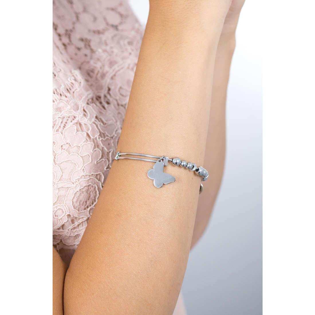 Sagapò bracelets BUTTERFLY woman SHAD09 indosso
