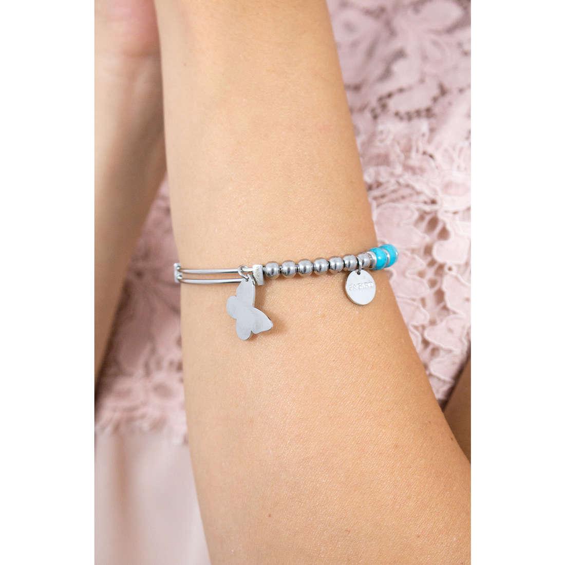 Sagapò bracelets BUTTERFLY woman SHAD10 indosso