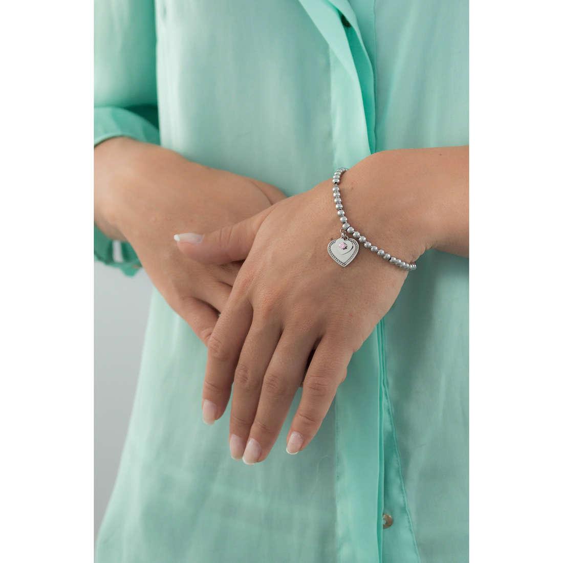 Sagapò bracelets Dorothy woman SAGAPOSDO11 indosso