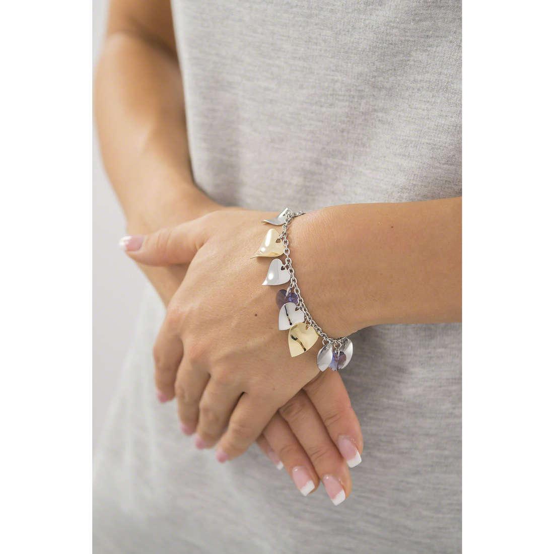 Sagapò bracelets Drops woman SPS11 indosso