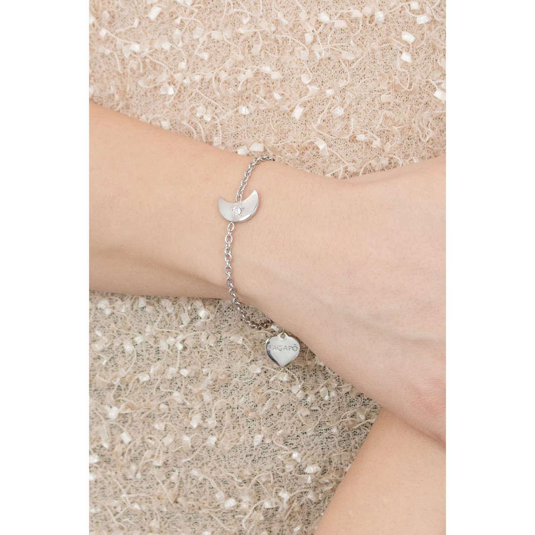 Sagapò bracelets Estrella woman SRE12 indosso