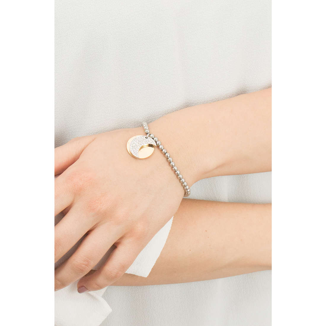 Sagapò bracelets Fortune woman SFO15 indosso