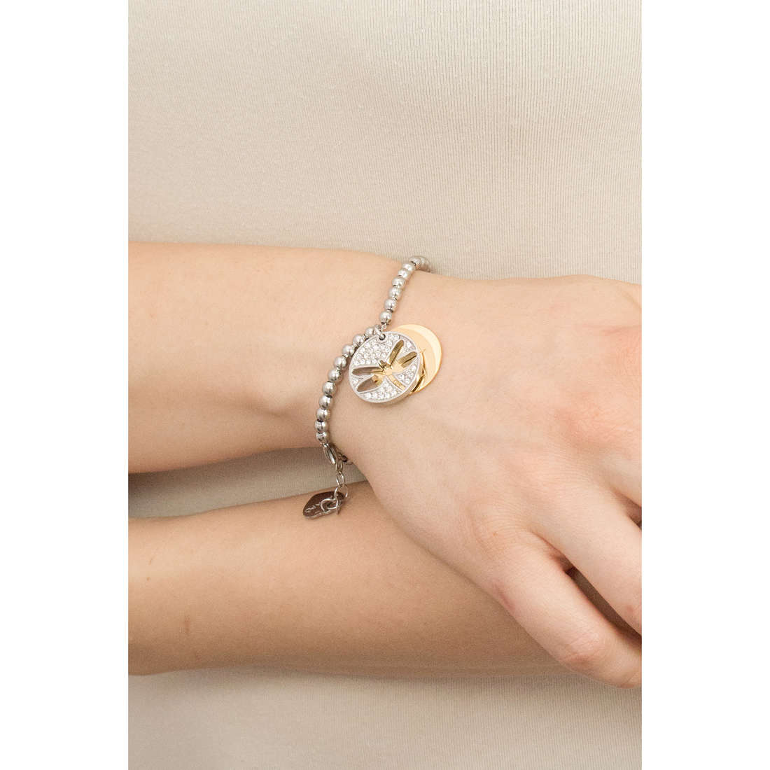 Sagapò bracelets Fortune woman SFO16 indosso