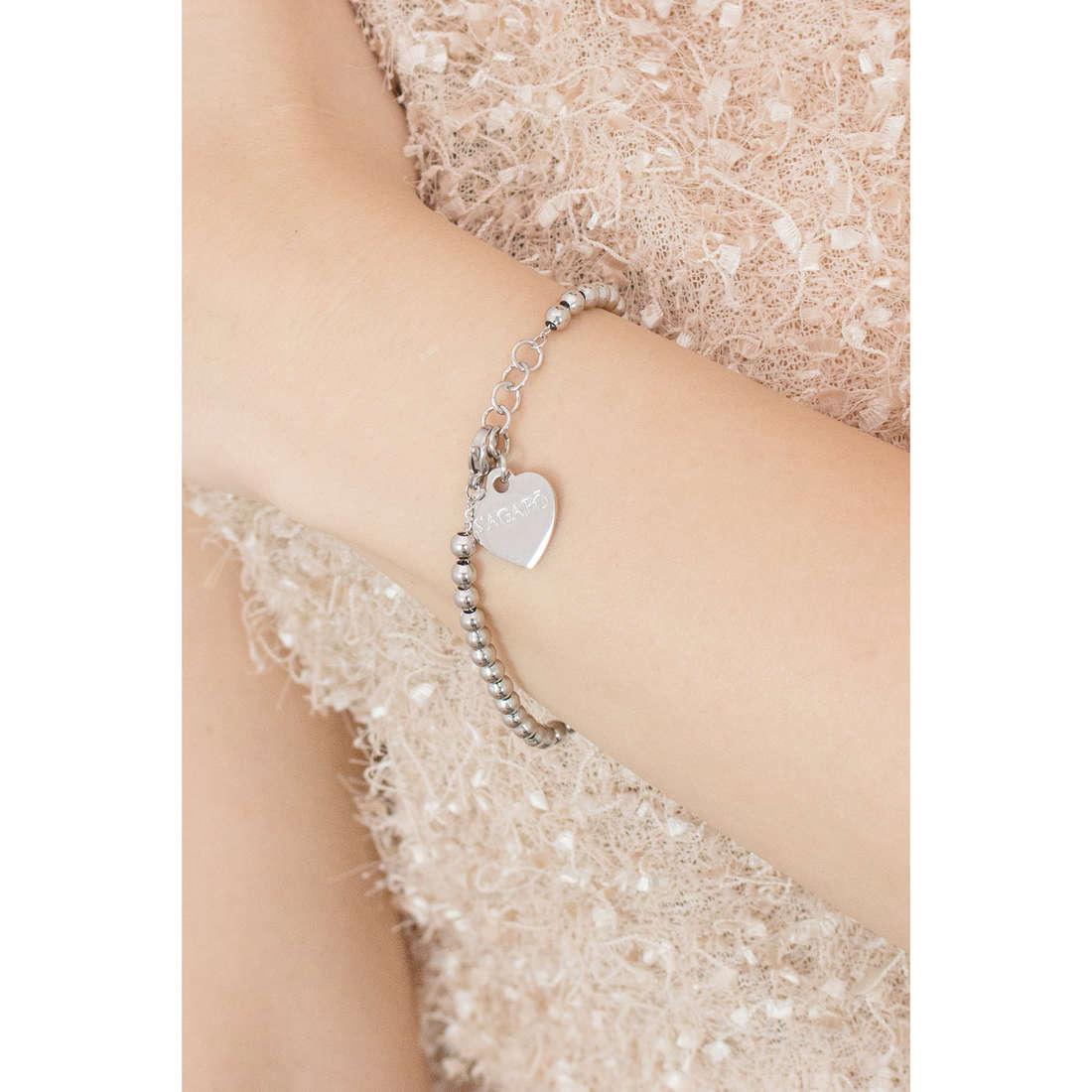 Sagapò bracelets HAPPY woman SHAC10 indosso