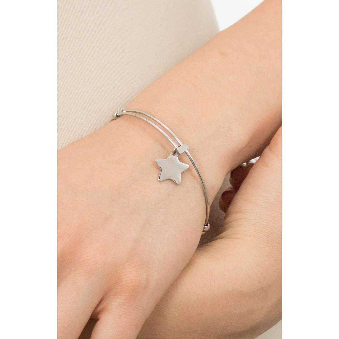 Sagapò bracelets HAPPY woman SHAD02 indosso