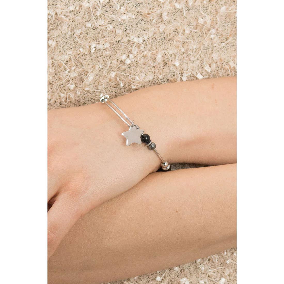 Sagapò bracelets HAPPY woman SHAD03 indosso