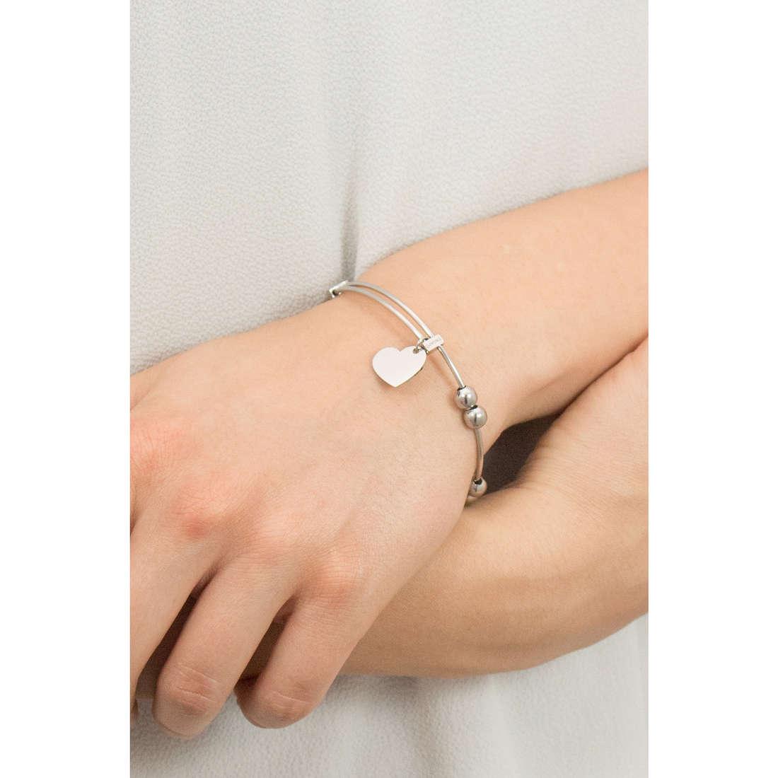 Sagapò bracelets HAPPY woman SHAD05 indosso