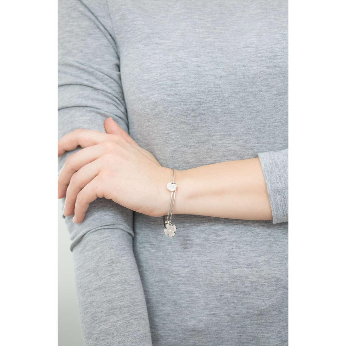 Sagapò bracelets HAPPY woman SHAD11 indosso