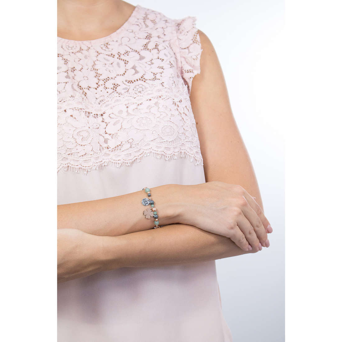Sagapò bracelets HAPPY woman SHAF03 indosso