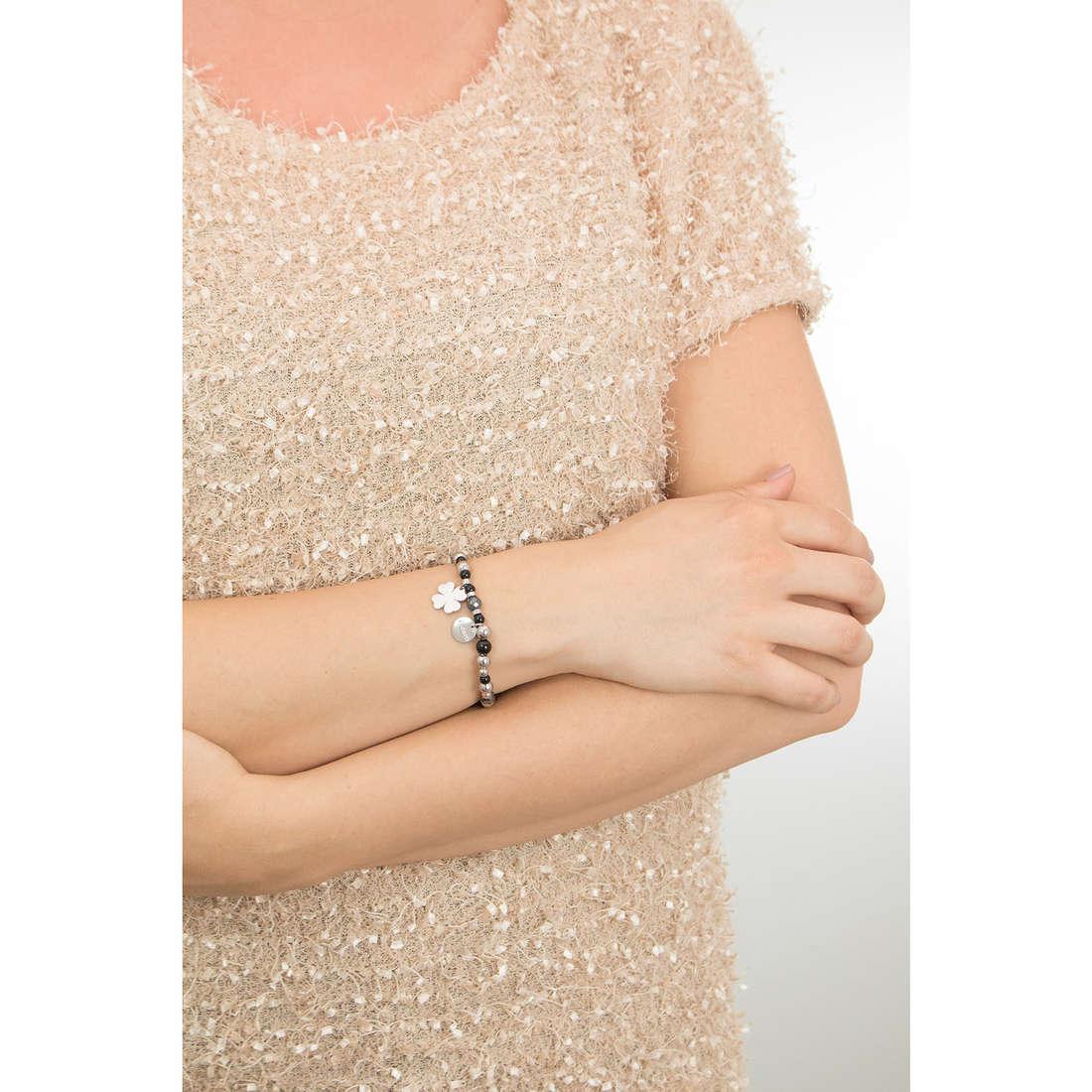 Sagapò bracelets HAPPY woman SHAG01 indosso
