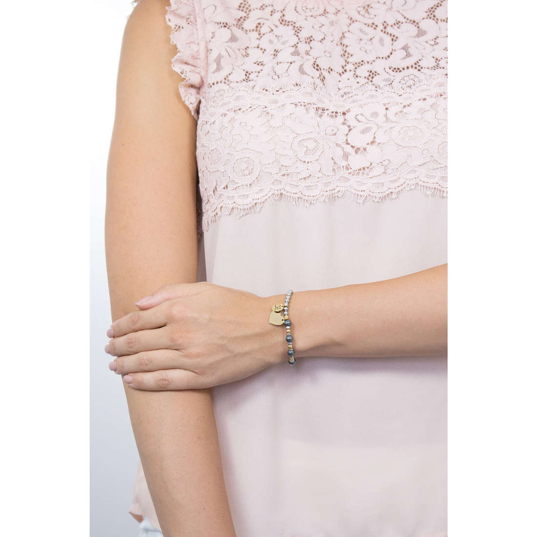 Sagapò bracelets HAPPY woman SHAG02 indosso