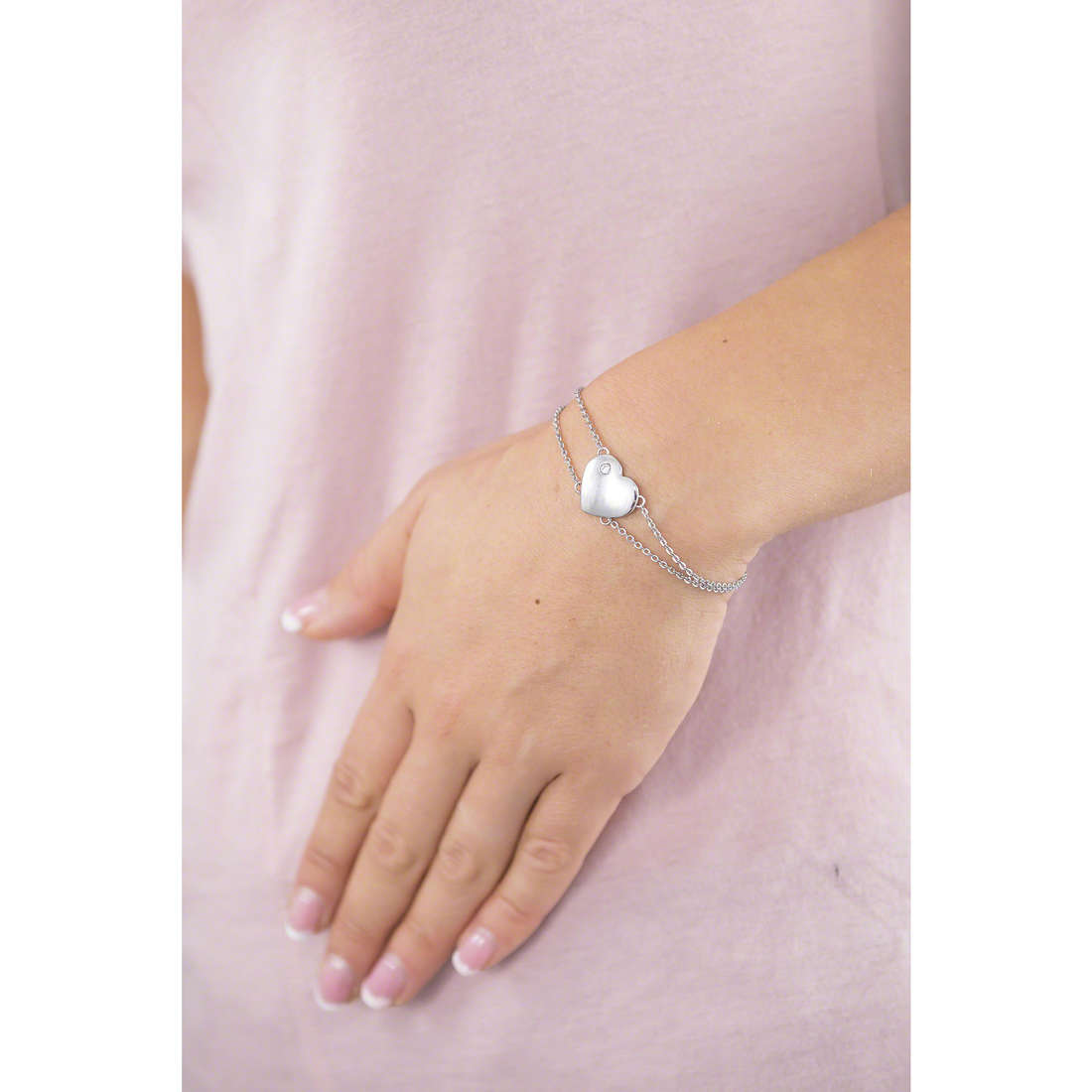 Sector bracelets Family & Love woman SACN11 indosso