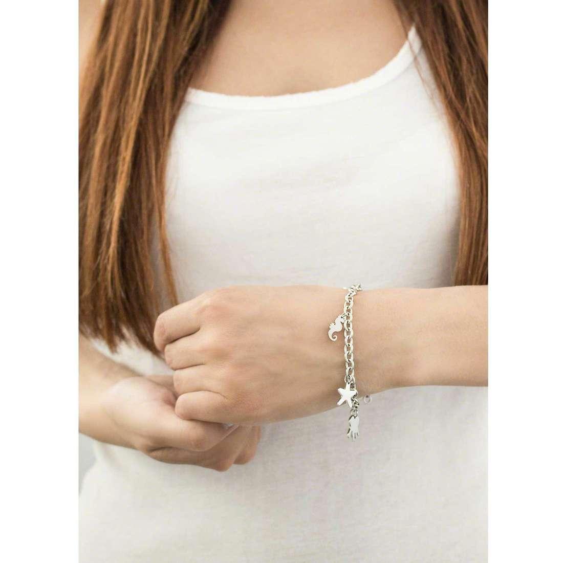 Sector bracelets Nature & Love woman SAGI13 indosso